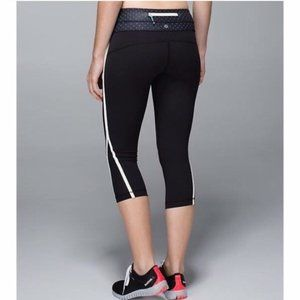 LULULEMON 'Up the Pace' Capri leggings size 2